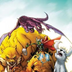 TAILS OF THE PET AVENGERS 1 (2009) #1