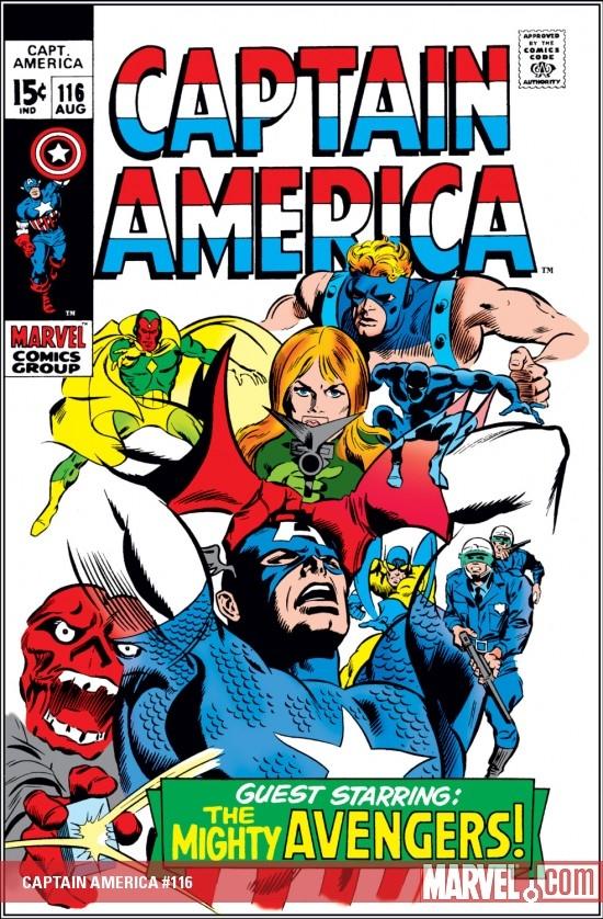 Captain America (1968) #116
