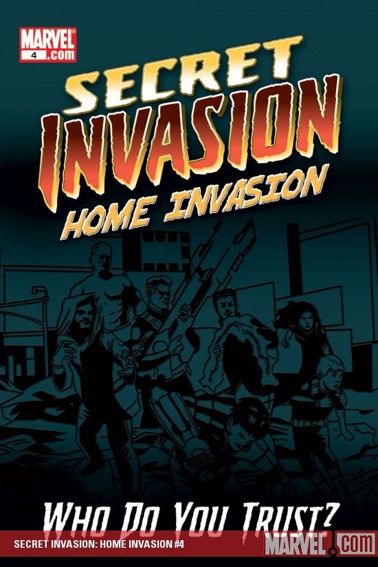 Secret Invasion: Home Invasion Digital Comic (2008) #4
