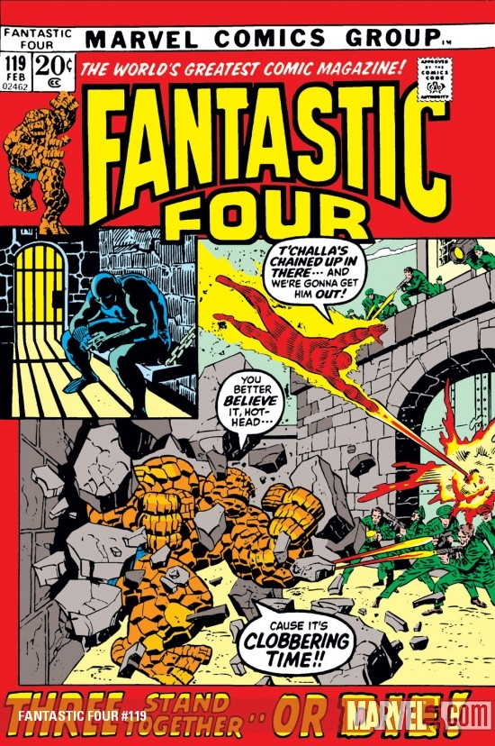 Fantastic Four (1961) #119