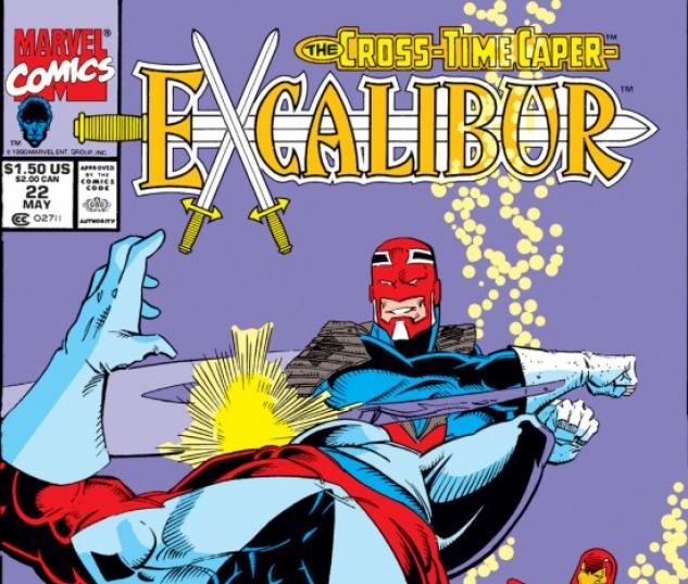 EXCALIBUR #22 COVER