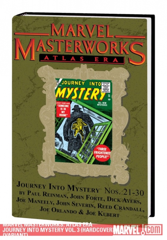 Marvel Masterworks: Atlas Era Journey Into Mystery Vol. 3 (Hardcover)