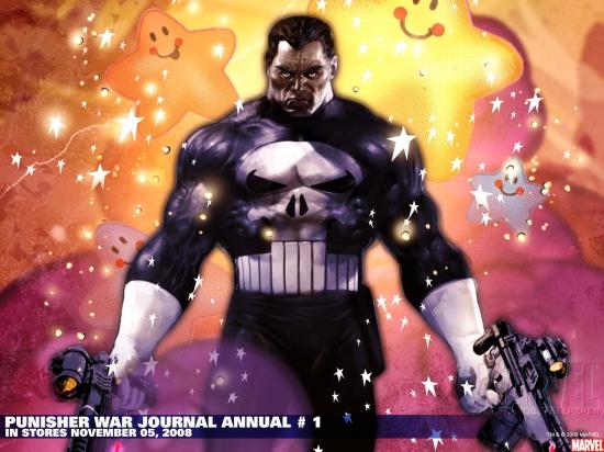 Punisher War Journal Annual (2008) #1 Wallpaper