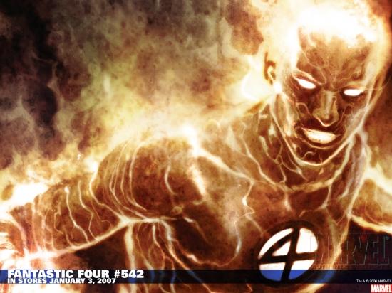 Fantastic Four (1998) #542 Wallpaper