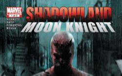 Shadowland: Moon Knight #1 cover by Francesco Mattina