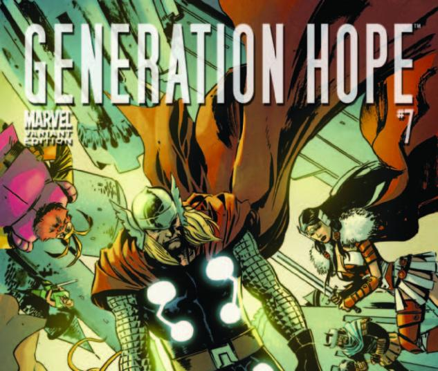 Generation Hope (2010) #7, THOR HOLLYWOOD VARIANT