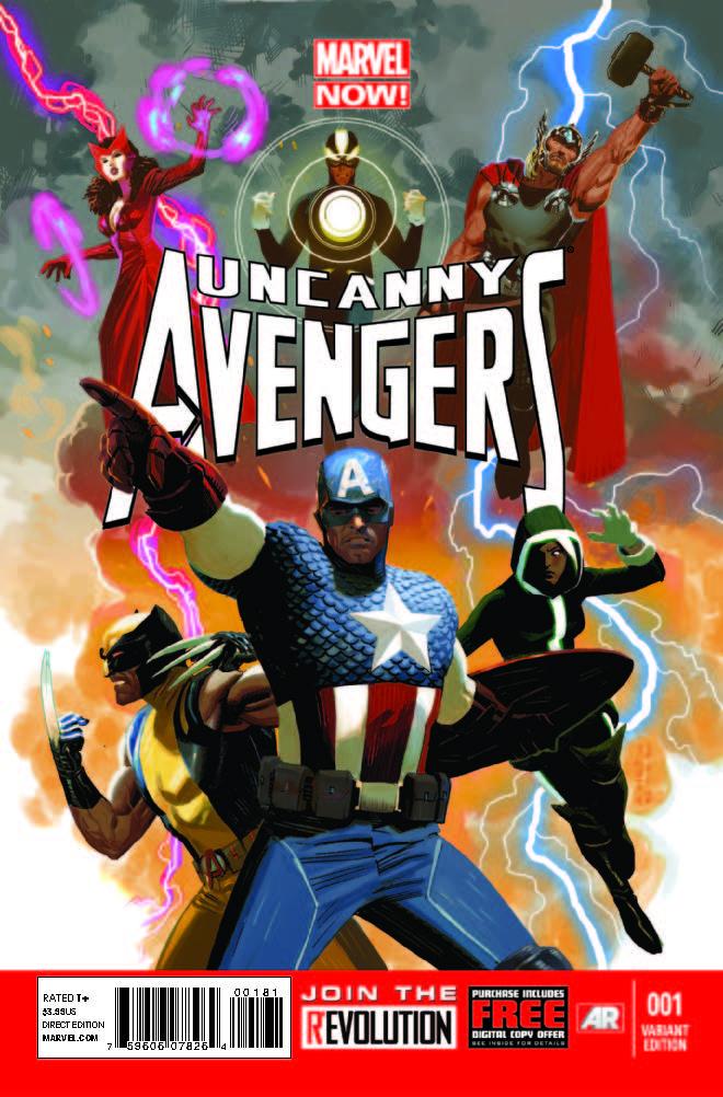 Uncanny Avengers (2012) #1 (Acuna Variant)