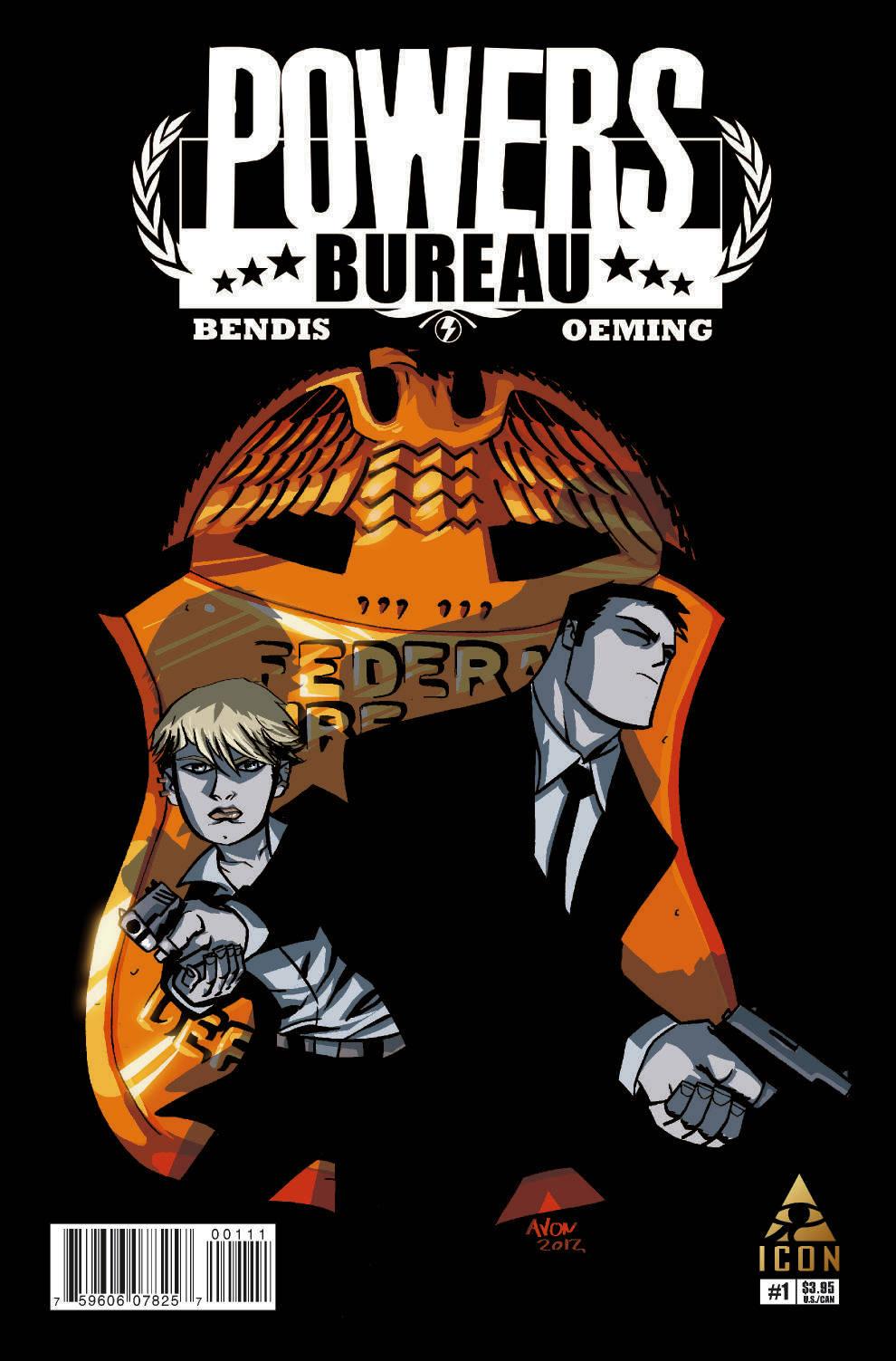 Powers: Bureau  (2012) #1