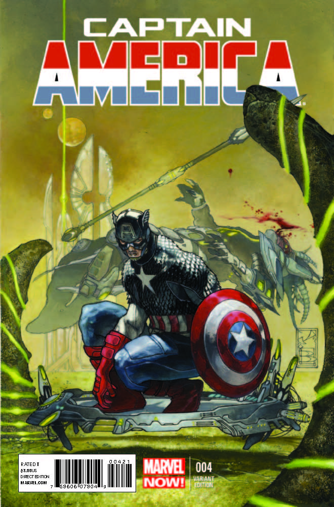 Captain America (2012) #4 (Bianchi Variant)