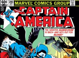 Captain America (1968) #280 Cover