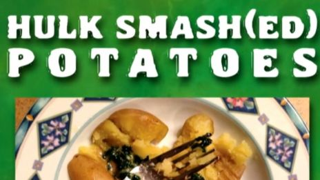 Marvel AR: Hulk Smash(ed) Potatoes