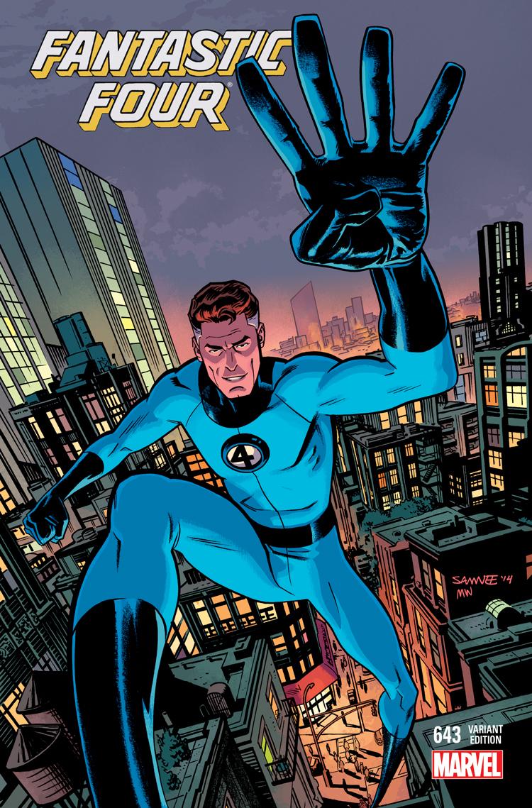 Fantastic Four (2014) #643 (Samnee Spotlight Variant)