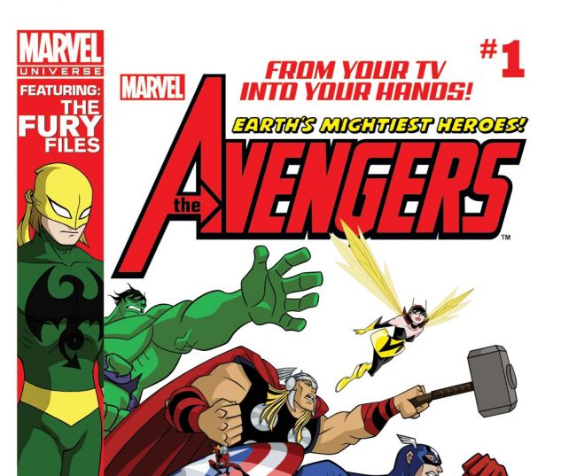 AVENGERS: EARTH'S MIGHTIEST HEROES MAGAZINE (2011) #1 Cover