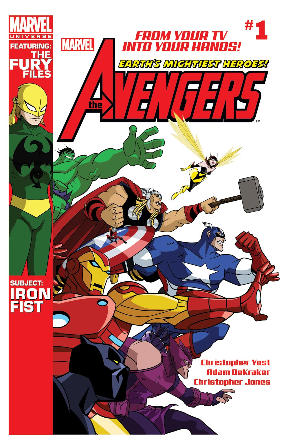Avengers: Earth's Mightiest Heroes Magazine (2011) #1