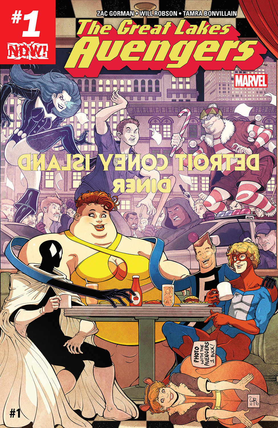 Great Lakes Avengers (2016) #1