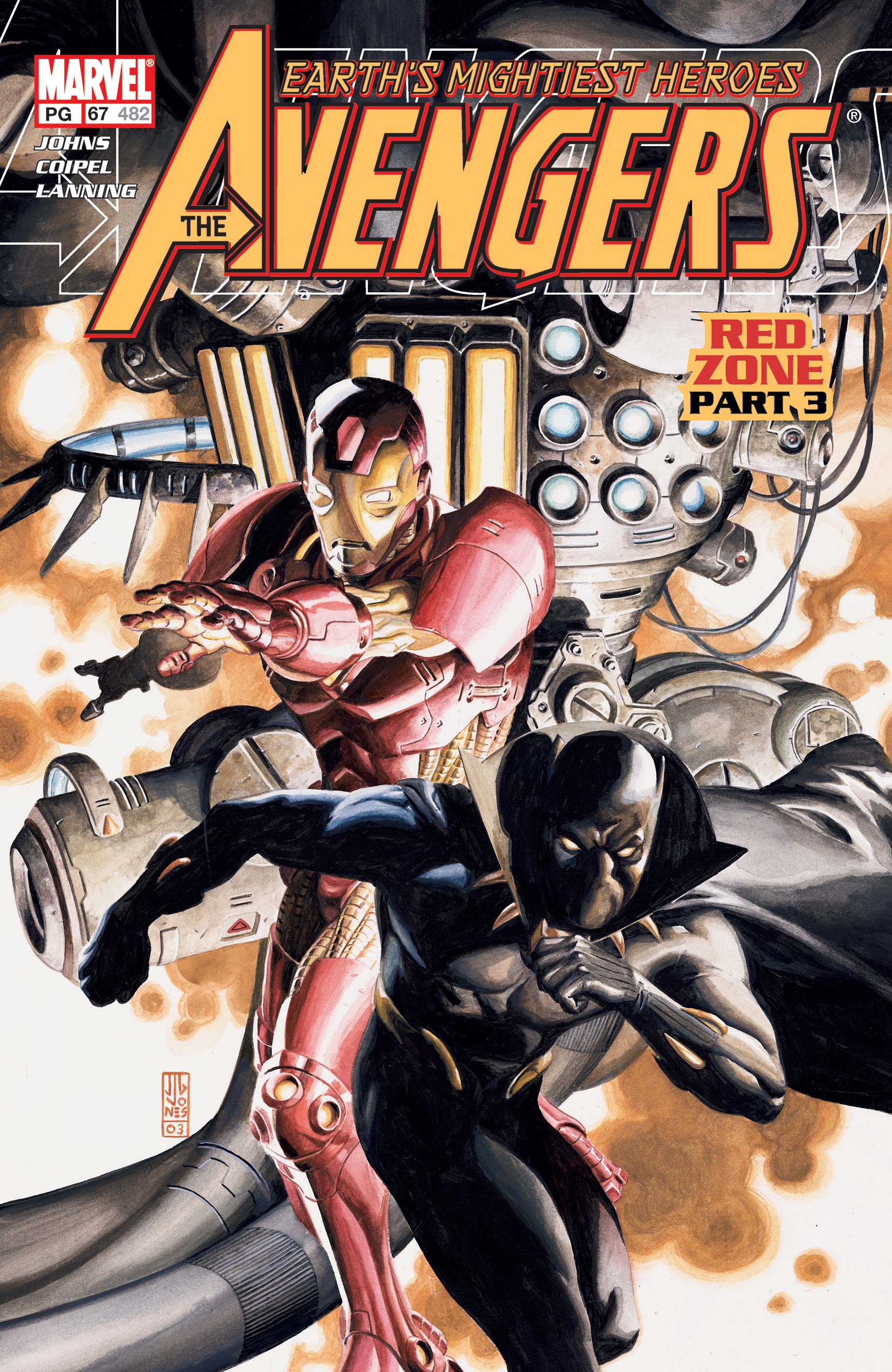 Avengers (1998) #67