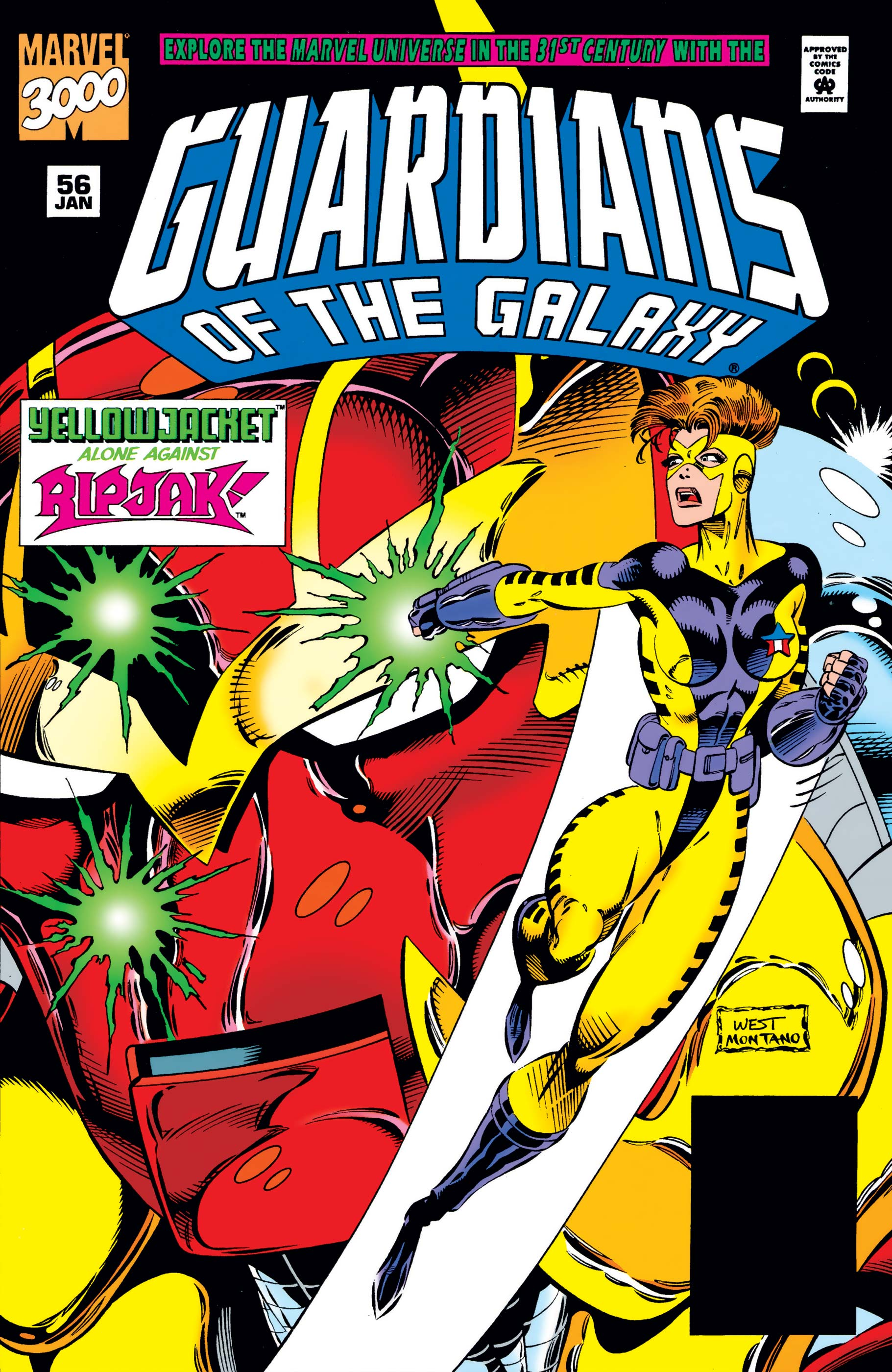 Guardians of the Galaxy (1990) #56