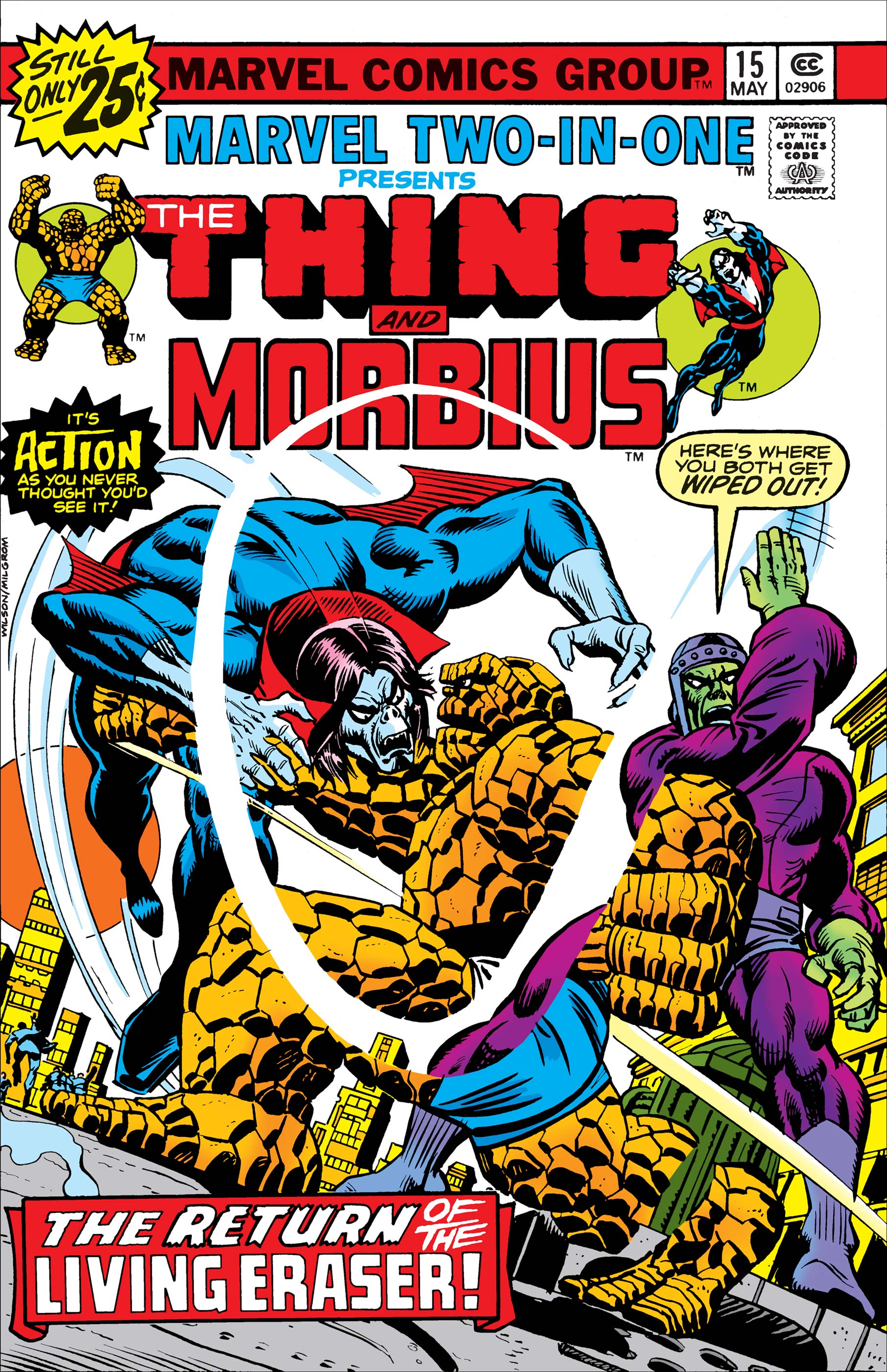 Marvel Two-in-One (1974) #15