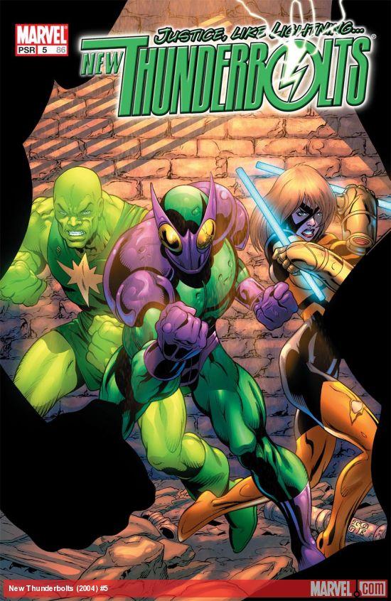New Thunderbolts (2004) #5