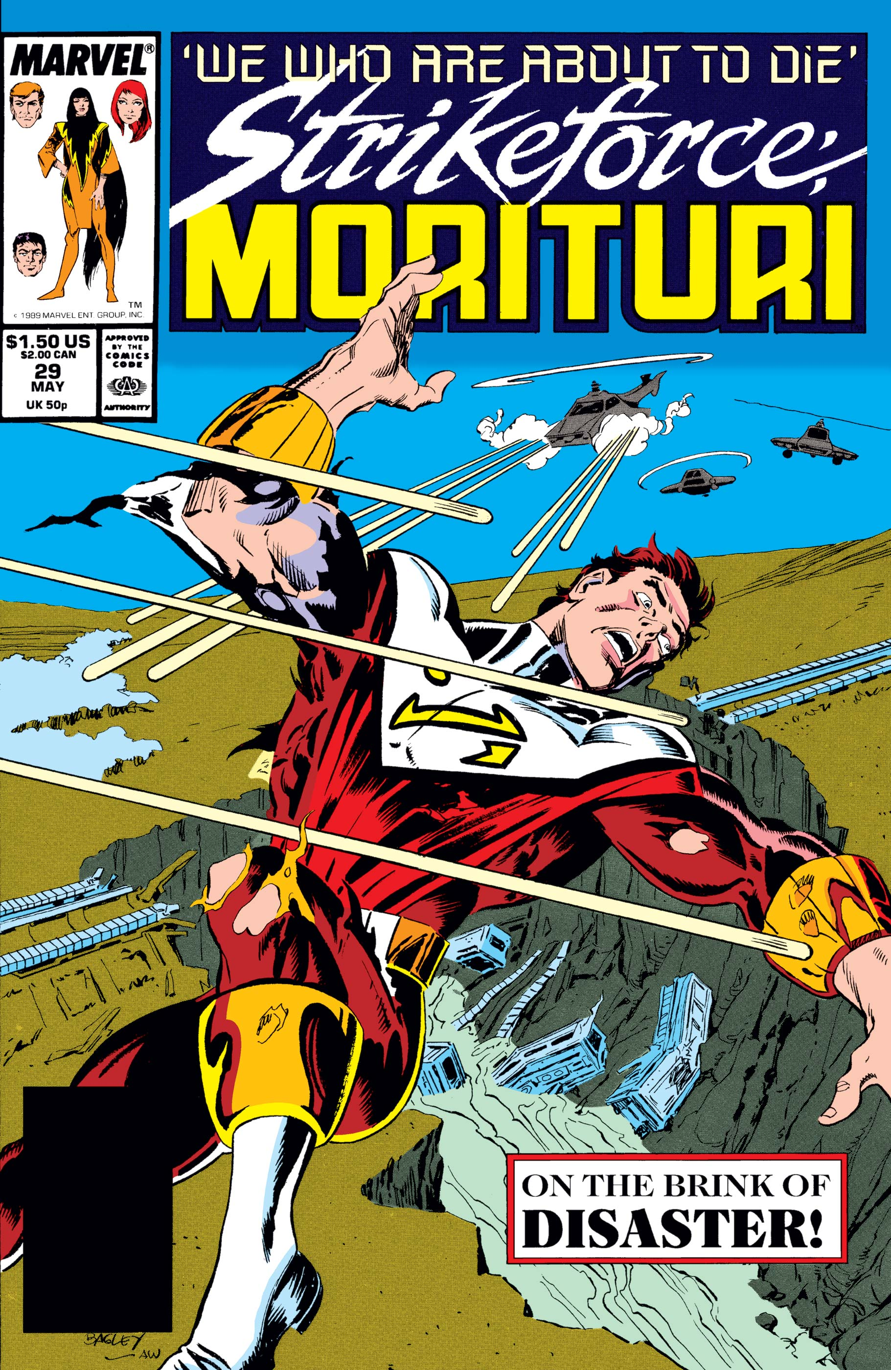 Strikeforce: Morituri (1986) #29
