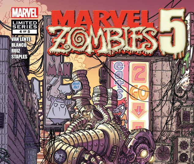 Marvel Zombies 5 (2010) #4