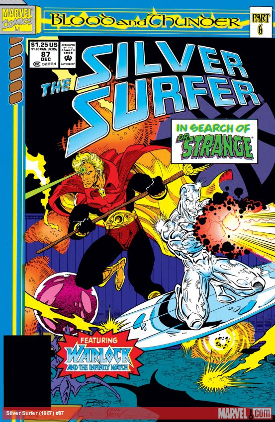 Silver Surfer (1987) #87