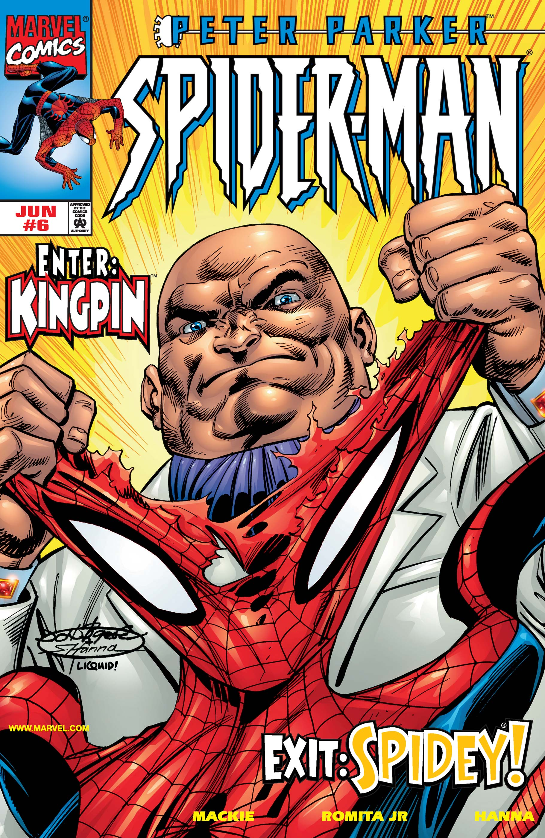 Peter Parker: Spider-Man (1999) #6