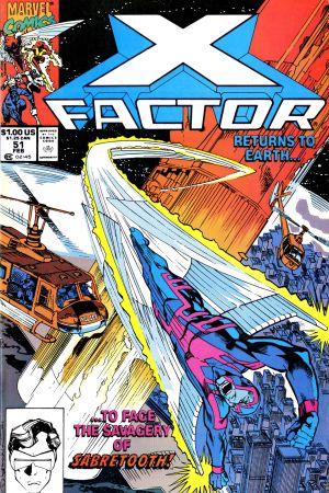 X-Factor (1986) #51