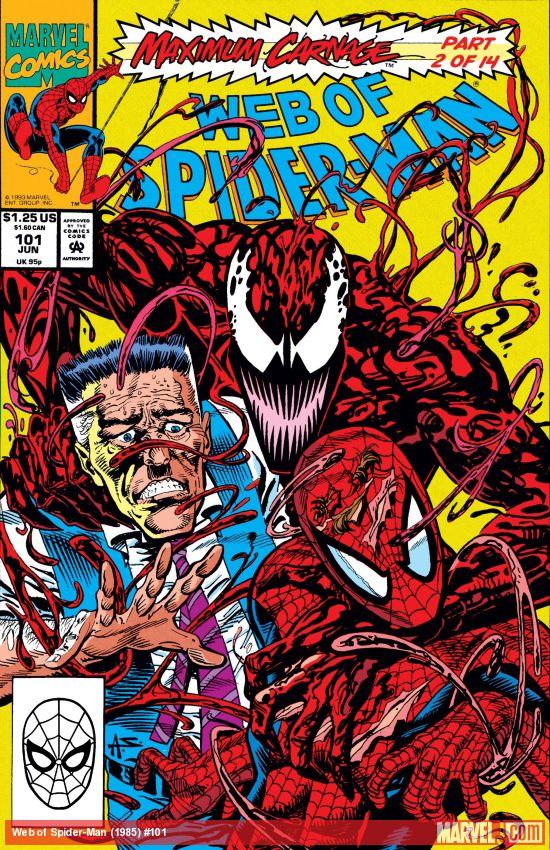 Web of Spider-Man (1985) #101