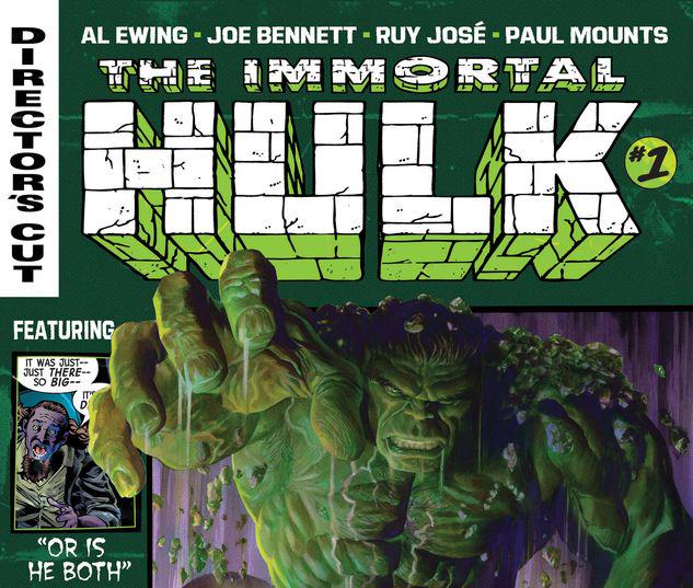 Immortal Hulk Director's Cut #1