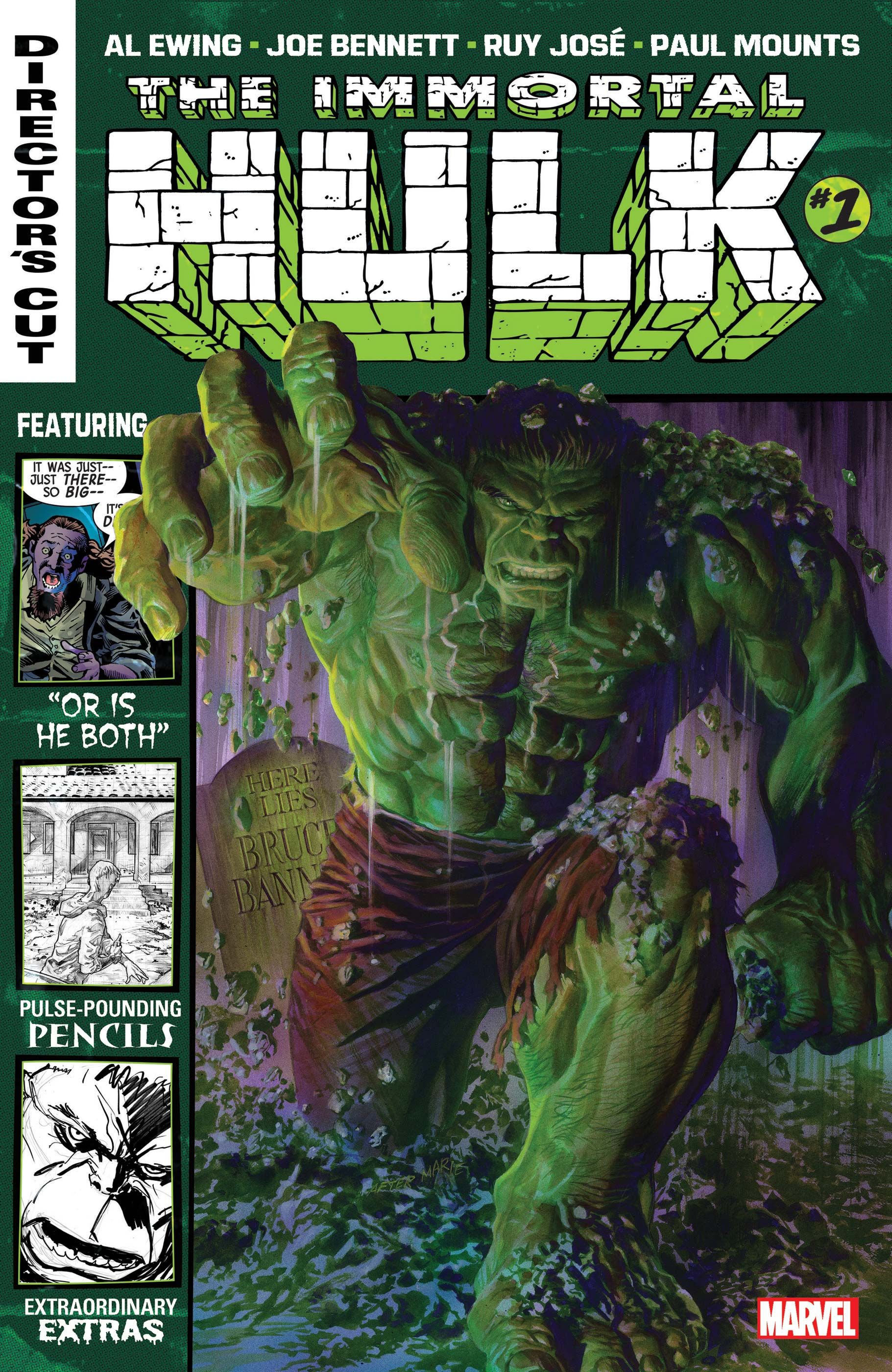 Immortal Hulk Director's Cut (2019) #1