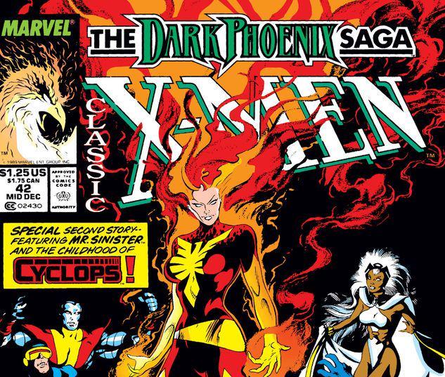 Classic X-Men #42