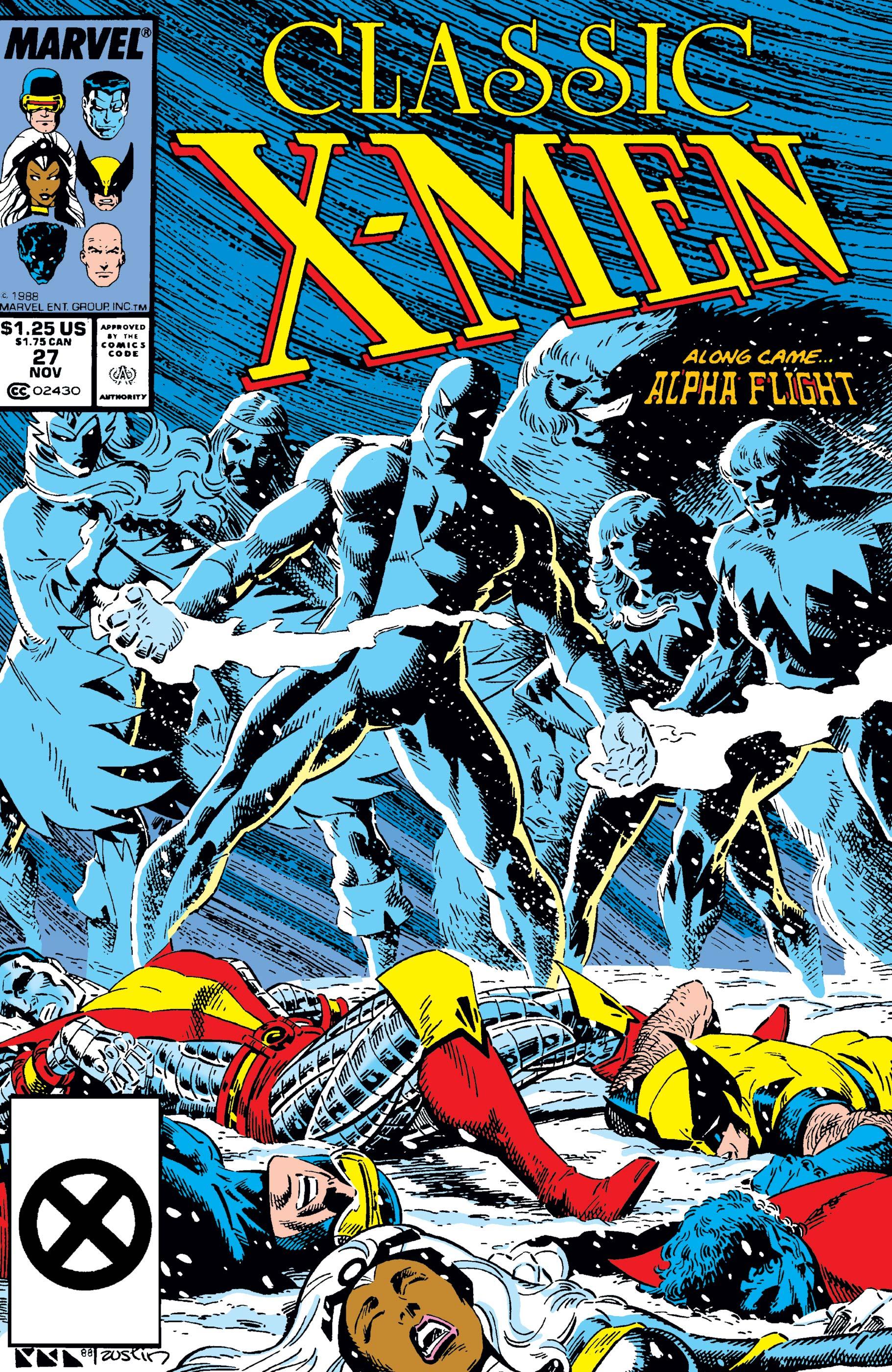 Classic X-Men (1986) #27