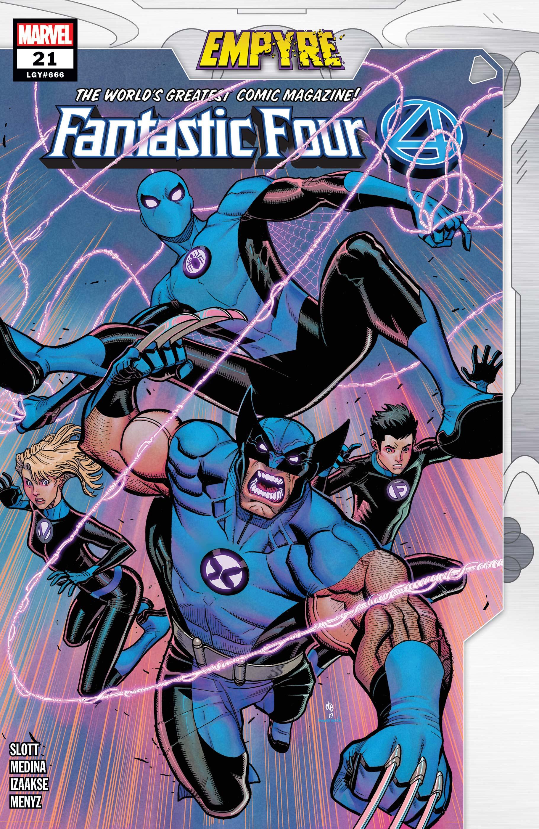 Fantastic Four (2018) #21