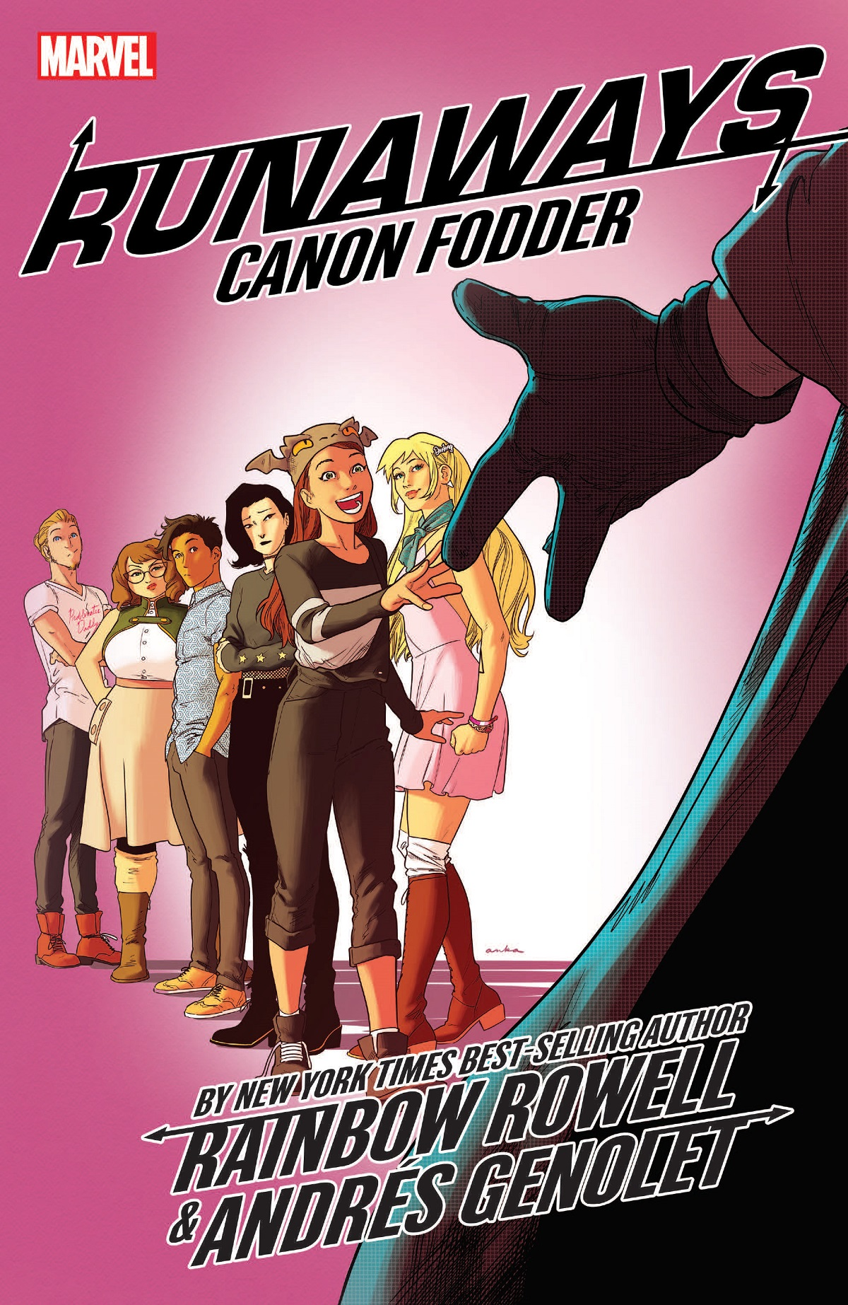 Runaways by Rainbow Rowell Vol. 5: Cannon Fodder (Trade Paperback)
