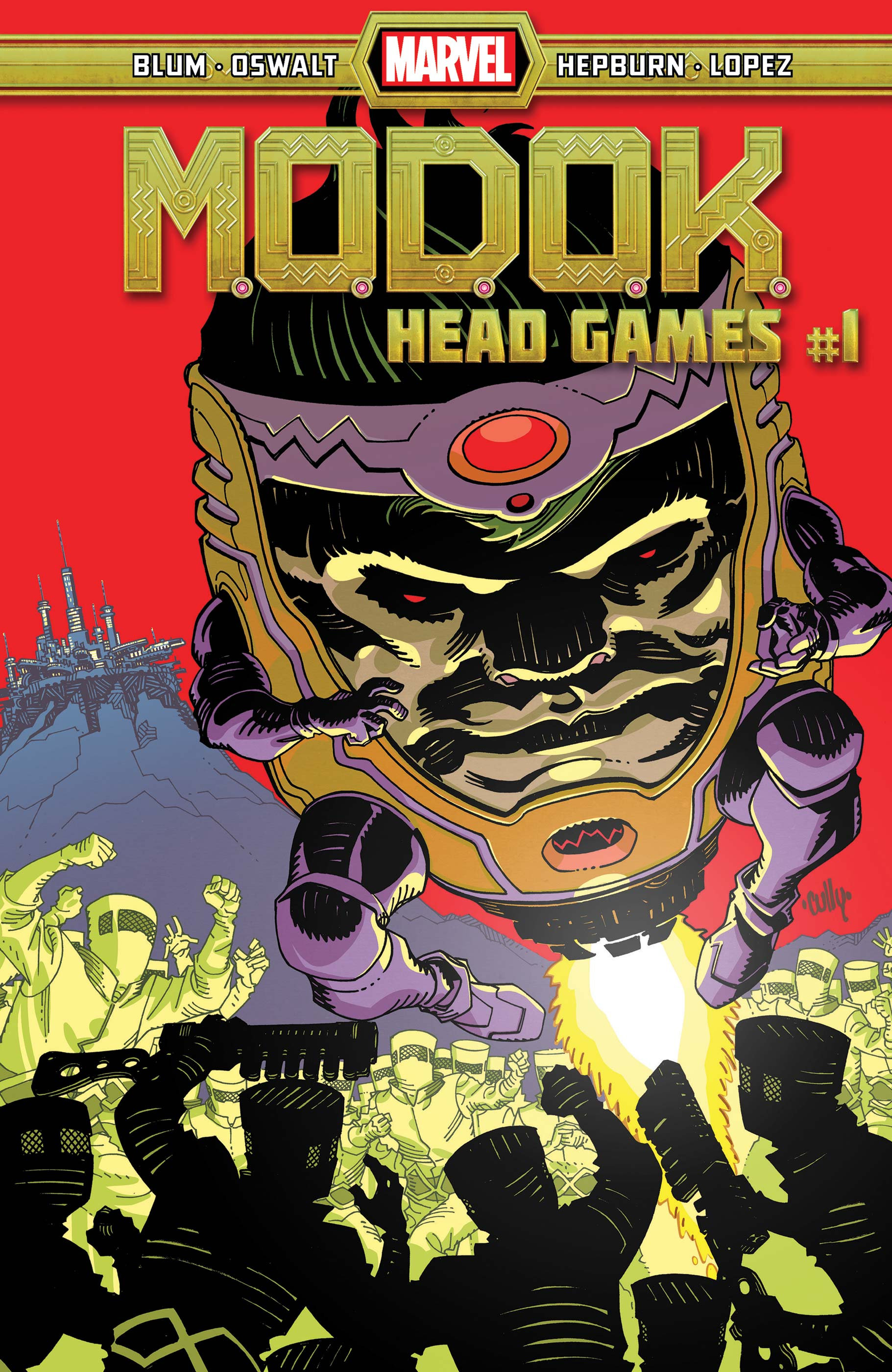 M.O.D.O.K.: Head Games (2020) #1