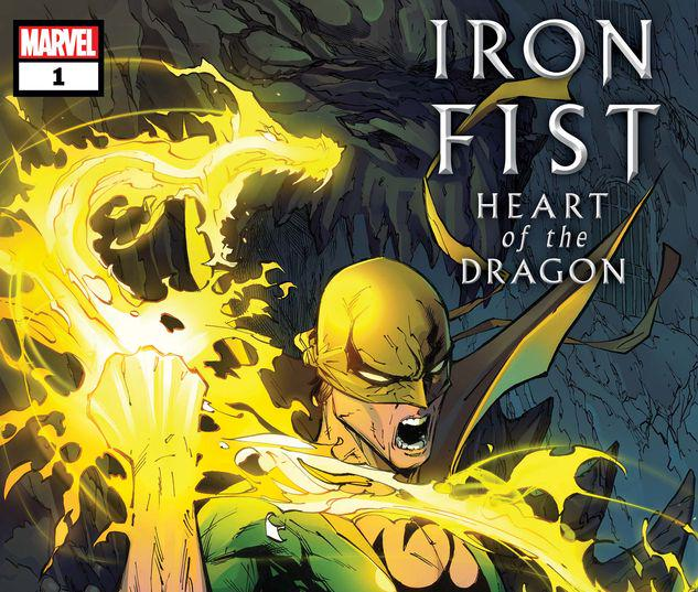 Iron Fist: Heart of the Dragon #1
