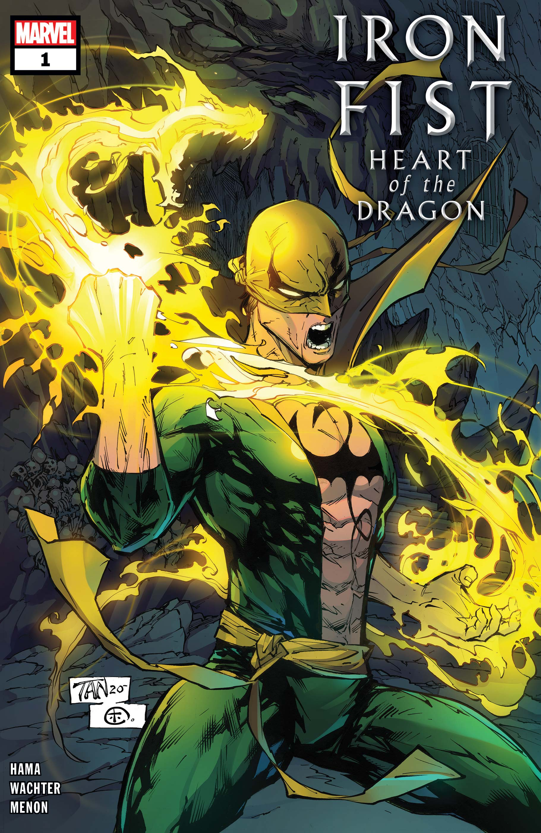 Iron Fist: Heart of the Dragon (2021) #1
