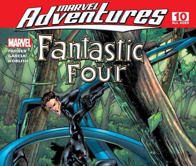 Marvel Adventures Fantastic Four #10