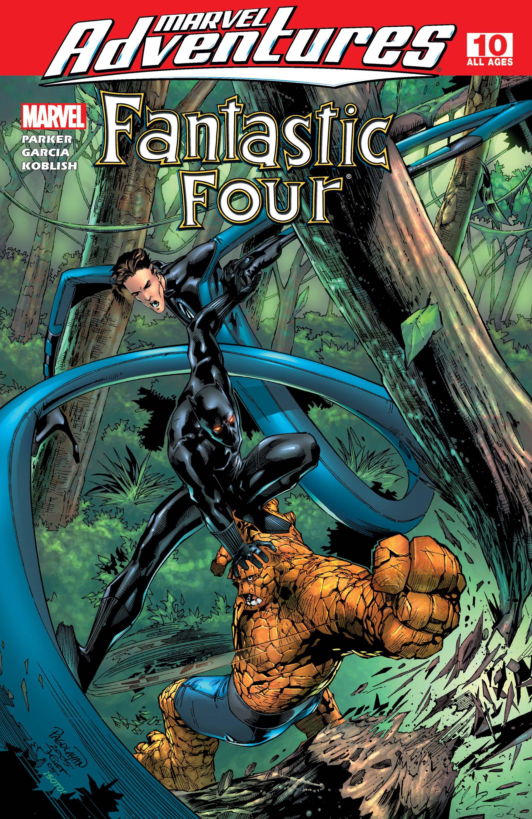 Marvel Adventures Fantastic Four (2005) #10