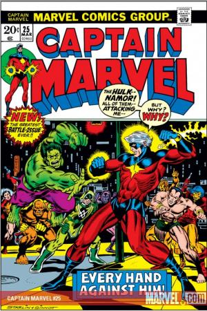 Captain Marvel (1968) #25