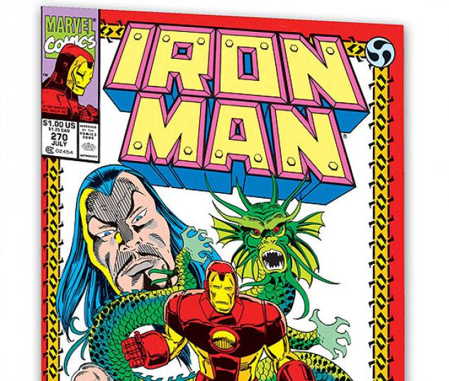 IRON MAN: THE DRAGON SEED SAGA #0