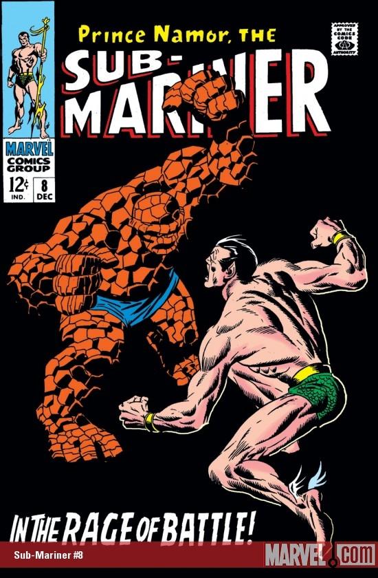 Sub-Mariner (1968) #8