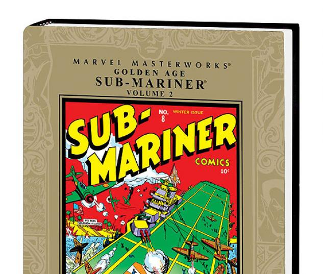 MARVEL MASTERWORKS: GOLDEN AGE SUB-MARINER VOL. 2 #0