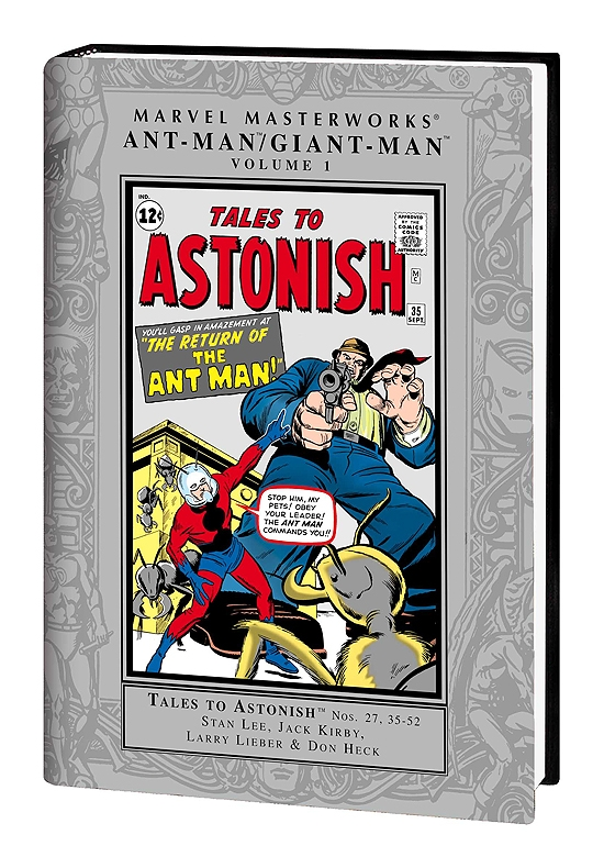 MARVEL MASTERWORKS: ANT-MAN/GIANT-MAN VOL. 1 HC (Hardcover)