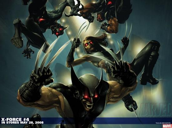X-Force (1991) #4 Wallpaper