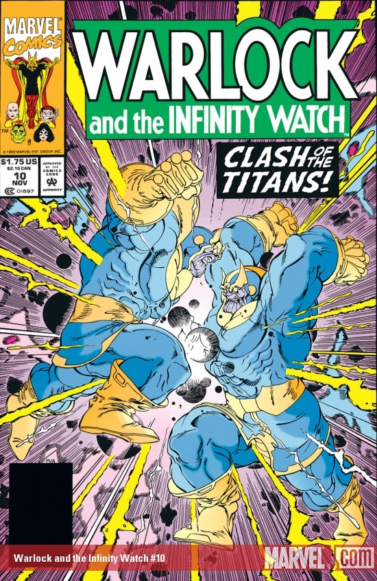Warlock and the Infinity Watch (1992) #10