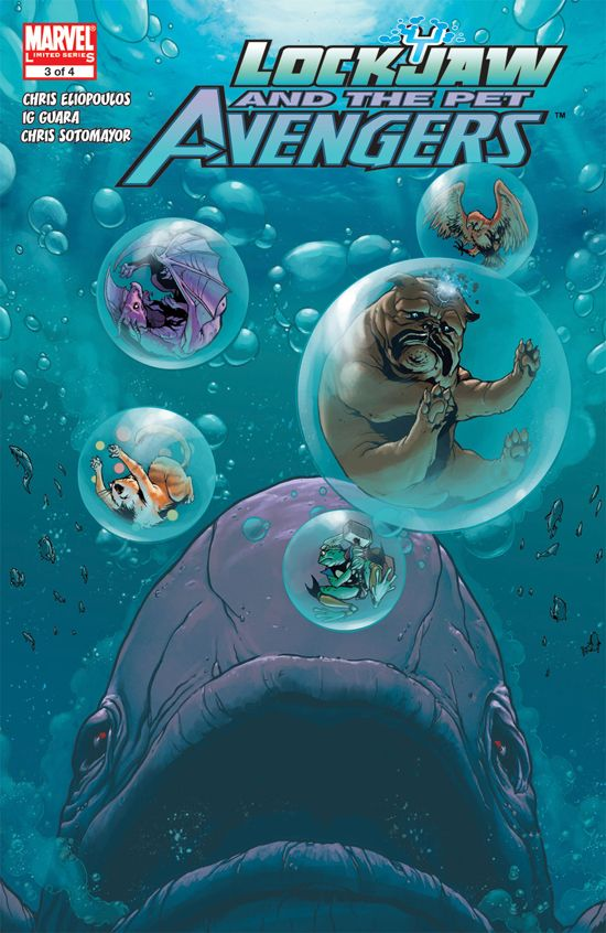Lockjaw and the Pet Avengers (2009) #3