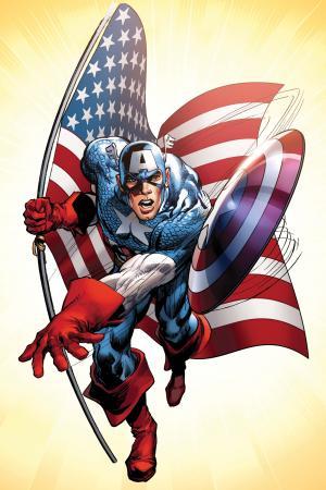 Captain America #1  (Adams Variant)