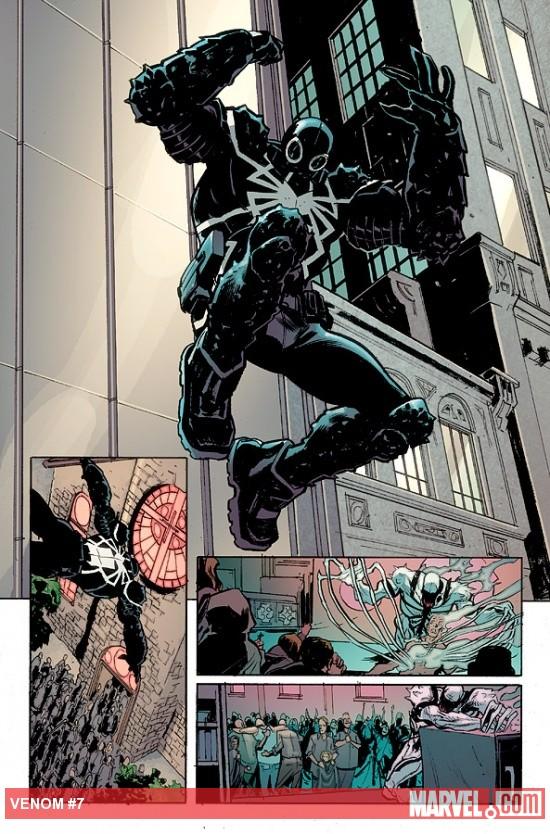 comics it s venom vs anti venom in the symbiotic showdown in venom 7